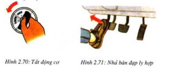 8 - Dừng xe ô tô đúng cách