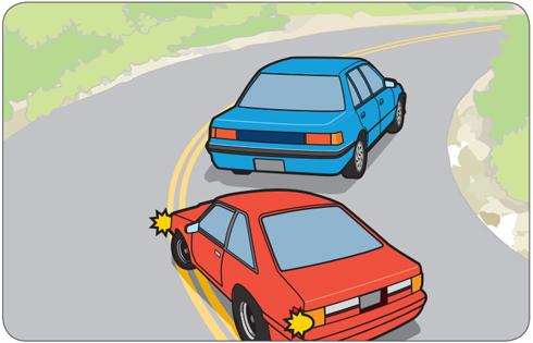 xử lý tình huống khi lái xe ô tô