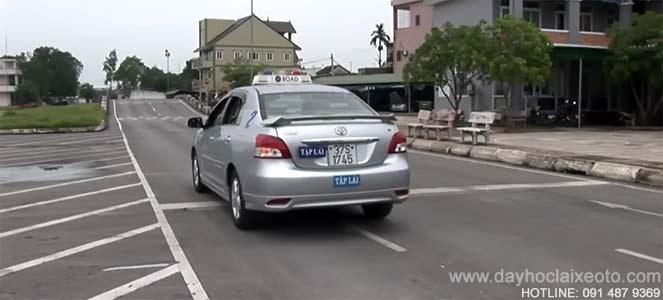 xe học thực hành học lái xe oto