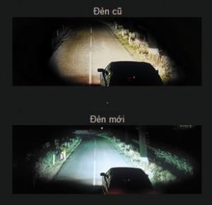 tầm nhìn lái xe ô tô vào ban đêm