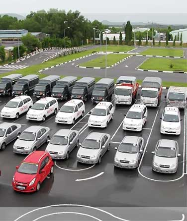hệ thống sân học lái xe lớn nhất hà nội