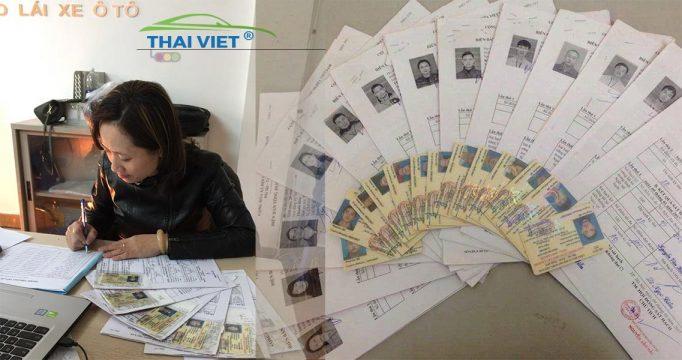 thi bang lai xe b2 tai thai viet e1523182850459 - Học phí học lái xe ô tô - Bảng giá các khóa dạy lái xe năm 2019