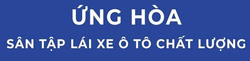 hoc lai xe o to tai ung hoa - Học lái xe ô tô số tự động đã có mặt tại huyện Ứng Hòa Hà Nội