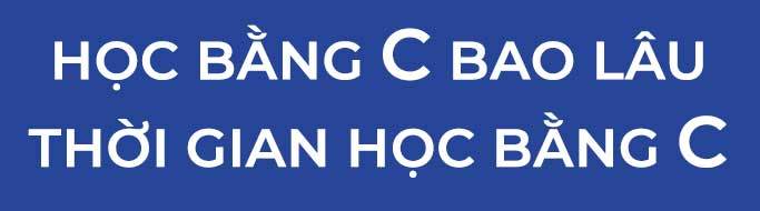 thoi gian hoc bang c bao lau la co bang - Thời gian cấp bằng lái xe hạng C có lâu hơn bằng B2 và B1 hay không