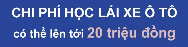 chi phi hoc lai xe co the len toi 20 trieu dong - Chi phí học lái xe sẽ tăng gấp 2 lần và khó hơn rất nhiều từ 2020