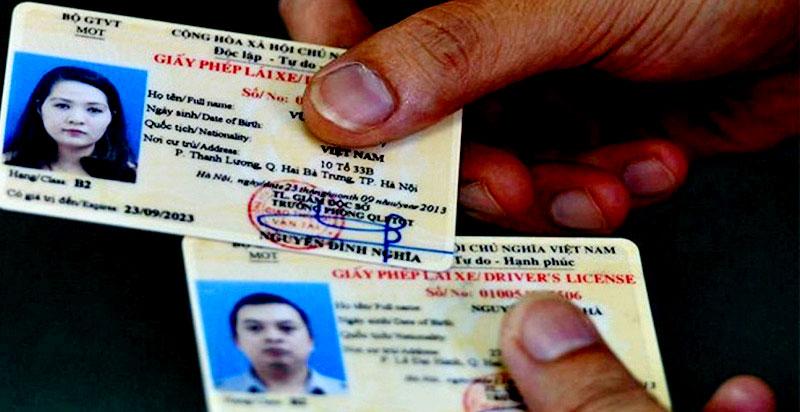 doi bang lai xe con han va het han - Đổi bằng lái xe sớm chớ để hết hạn, các tài xế lưu ý